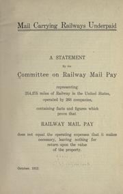 Mail carrying railways underpaid PDF