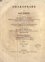 Shakespeare and his times PDF
