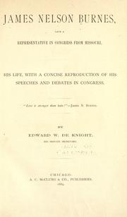 James Nelson Burnes PDF