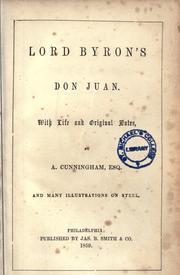 Lord Byrons Don Juan