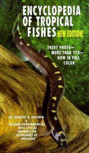 Encyclopedia of tropical fishes by Herbert R. Axelrod
