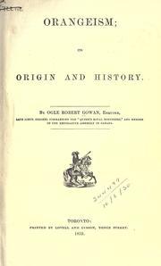 Orangeism PDF