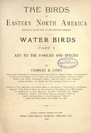 The birds of eastern North America known to occur east of the nineteenth meridian .. PDF