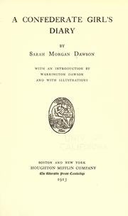 A Confederate girl's diary PDF