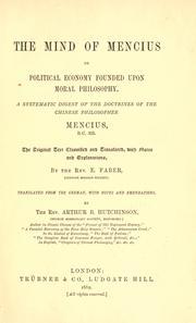 The mind of Mencius PDF