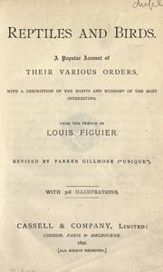 Reptiles and birds by Louis Figuier