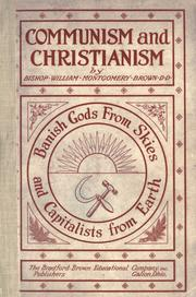 Communism and Christianism by William Montgomery Brown