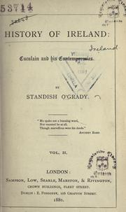 History of Ireland by O'Grady, Standish