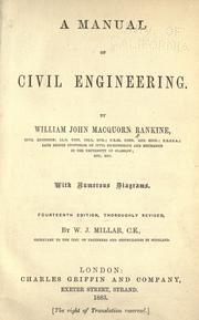 A manual of civil engineering by Rankine, William John Macquorn