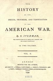 The history of the origin, progress, and termination of the American war PDF