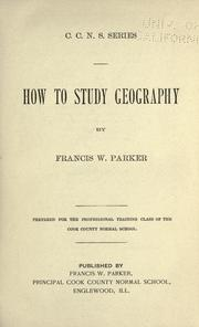 How to study geography PDF