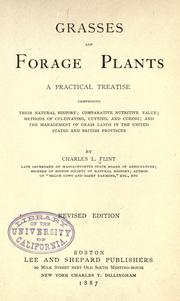 Grasses and forage plants by Charles Louis Flint