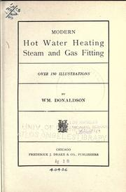Modern hot water heating PDF