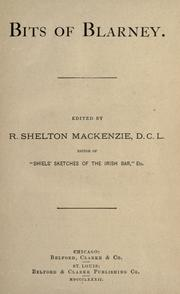 Bits of Blarney by R. Shelton Mackenzie