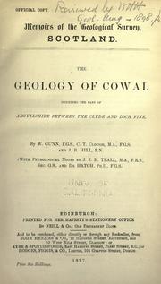 geology of Cowal