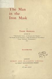 The man in the iron mask by Tighe Hopkins