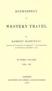 Retrospect of western travel PDF