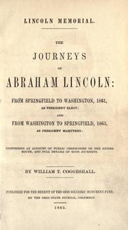 Lincoln memorial by William Turner Coggeshall