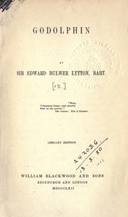 Godolphin by Edward Bulwer Lytton