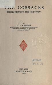 The Cossacks by W. P. Cresson