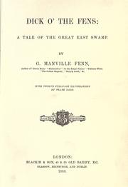 Dick o' the fens by George Manville Fenn