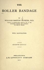 The roller bandage by William Barton Hopkins