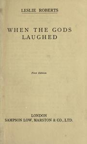 When the gods laughed PDF