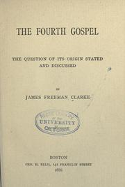 The fourth Gospel PDF