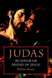 Judas by William Klassen