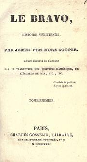 Cover of: Le bravo by James Fenimore Cooper