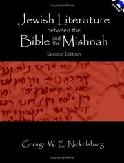 Jewish literature between the Bible and the Mishnah by George W. E. Nickelsburg