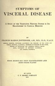 Symptoms of visceral disease by Pottenger, Francis Marion