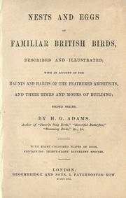 Nests and eggs of familiar British birds, described and illustrated PDF