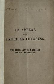 An appeal to the American Congress PDF
