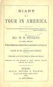 Diary of a tour in America PDF