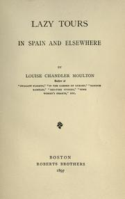Lazy tours in Spain and elsewhere PDF