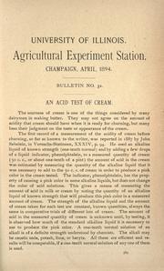 An acid test of cream PDF