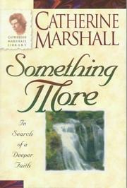 Something more by Marshall, Catherine