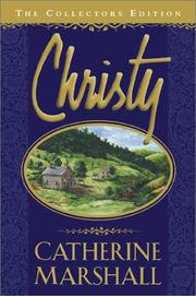 Christy by Marshall, Catherine