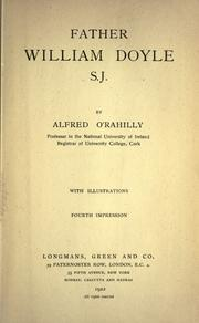 Father William Doyle S.J by Alfred O'Rahilly