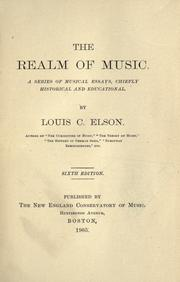 The realm of music; PDF