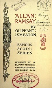 Allan Ramsay by William Henry Oliphant Smeaton