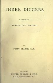 Three diggers by Percy Clarke
