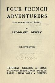 Four French adventurers PDF