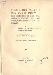 Game birds and birds of prey by Neltje Blanchan