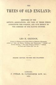 Cover of: The trees of old England by Leo H. Grindon