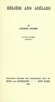 He loi se and Abe lard by Moore, George