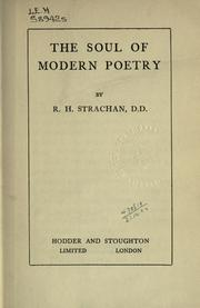 The soul of modern poetry PDF