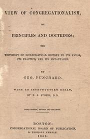 A view of Congregationalism, its principles and doctrines by Geo Punchard