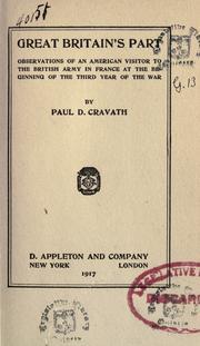 Great Britain's part PDF